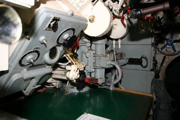 Main distribution box in U 995's control room