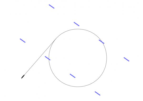 The BdU idea of the circling torpedo